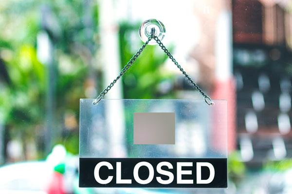 Wij zijn gesloten op 6 en 7 april 2019
